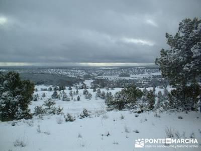 La Fuentona - Sierra de Cabrejas; clubs montaña madrid; fin de semana senderismo